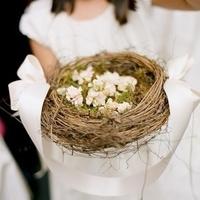 Flower Girl Nest Bouquet