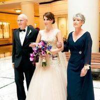 Walking Down the Aisle with Two Parents