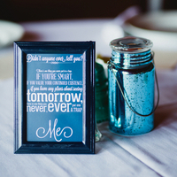 Quote Centerpieces