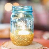 Sparkly Mason Jar