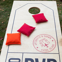 Colorful Cornhole