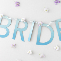 DIY: Hanging Ombre Wedding Sign