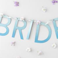 DIY: Hanging Ombre Wedding Sign