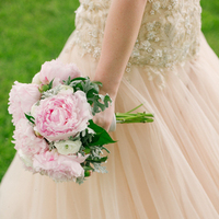Pink Bride's Bouquet