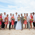 1401384729 thumb photo preview bright tropical beach hawaii wedding 21