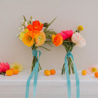 DIY: Mini Citrus Bouquets