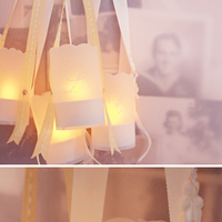 DIY: Tea Light Lanterns