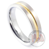 Squealer Tungsten Men's Ring
