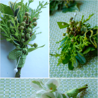 DIY: Wintergreen Boutonnieres
