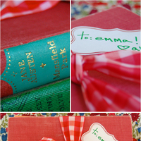 Bridesmaid Gifts: Vintage Books