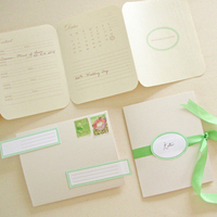 Garden Wedding Stationery Set