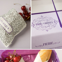 DIY Weddings: The Purple Picnic