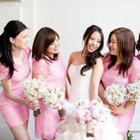 Pretty Pink Bridesmaids