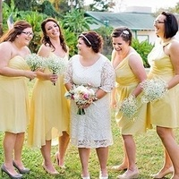 Sunflower Yellow Bridesmaids