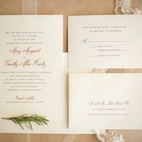 Nature Inspired Invitations