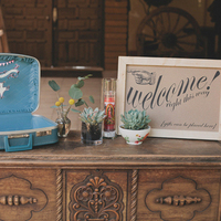 Wooden Vintage Table