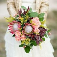 Winter Protea Bouquet