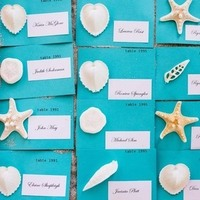 Beachy Escort Cards