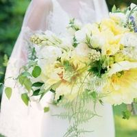 Yellow Tree Peony Bouquet