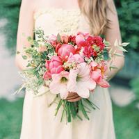 Peony and Amaryllis Bouquet