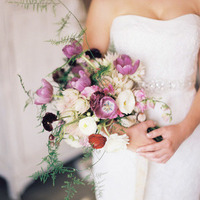 Romantic Purple Tulip Bouquet