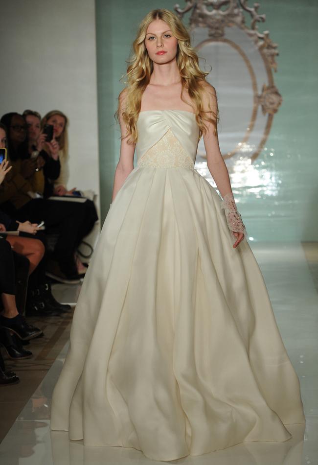Fashion, white, dress, Bride, Wedding, Bridal, Style, Reem acra, spring2015