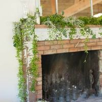 Greenery Mantle Decor