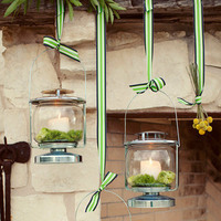 Hanging Lanterns with Green Trick