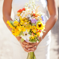 Yellow Wildflower Bouquet
