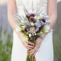 Purple Wildflower Bouquet
