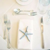 Starfish Place Setting