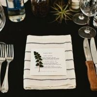 Rustic Herb Place Setting