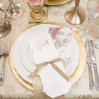 Formal Gold Place Setting