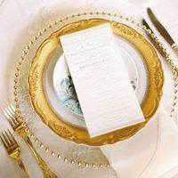 Formal China Place Setting