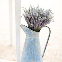 Vintage Lavender Aisle Marker