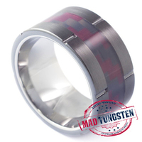 Howitzer Carbide Ring-Mad Tungsten Rings