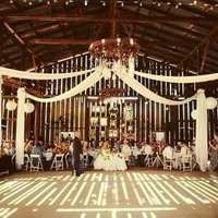 Draped Barn Reception