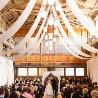 Draped Barn Ceiling