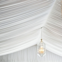 Classic Draped Tent Ceiling
