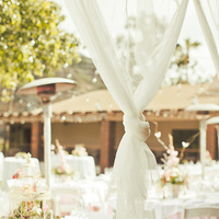 Outdoor Reception Draping