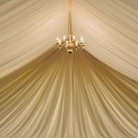 Glam Draped Tent Ceiling