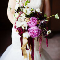 Burgundy and Pink Bouquet