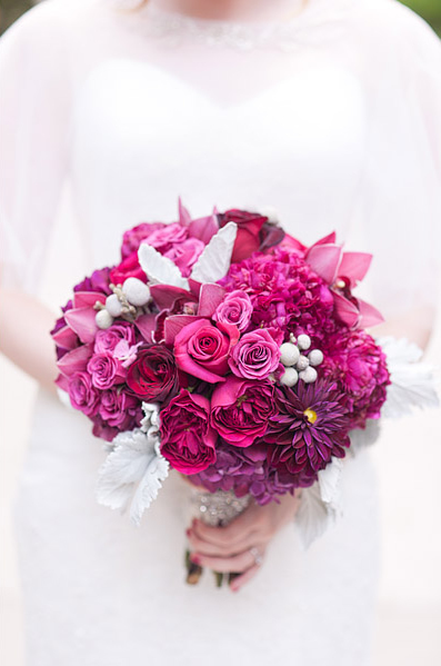 Dark Pink Bouquet