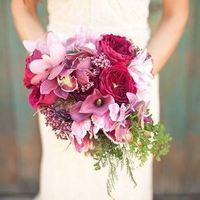 Ruby and Mauve Bouquet