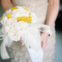 Feather Bouquet Accents