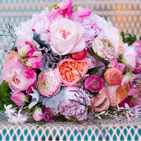 Glam Pink Tone Bouquet