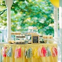 Tissue Tassel Dessert Display