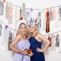 Giant Tissue Tassel Backdrop