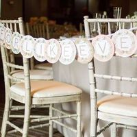 Banner Chair Decor