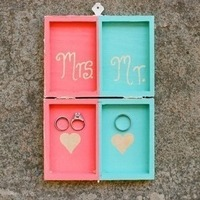Colorful Ring Bearer Box